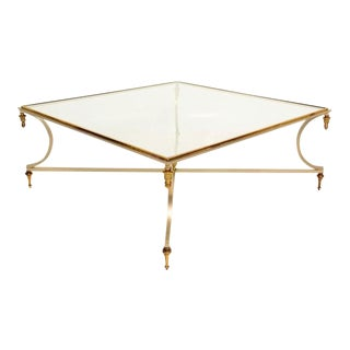 Coffee Table in the Style of Maison Jensen Hollywood Regency Era For Sale