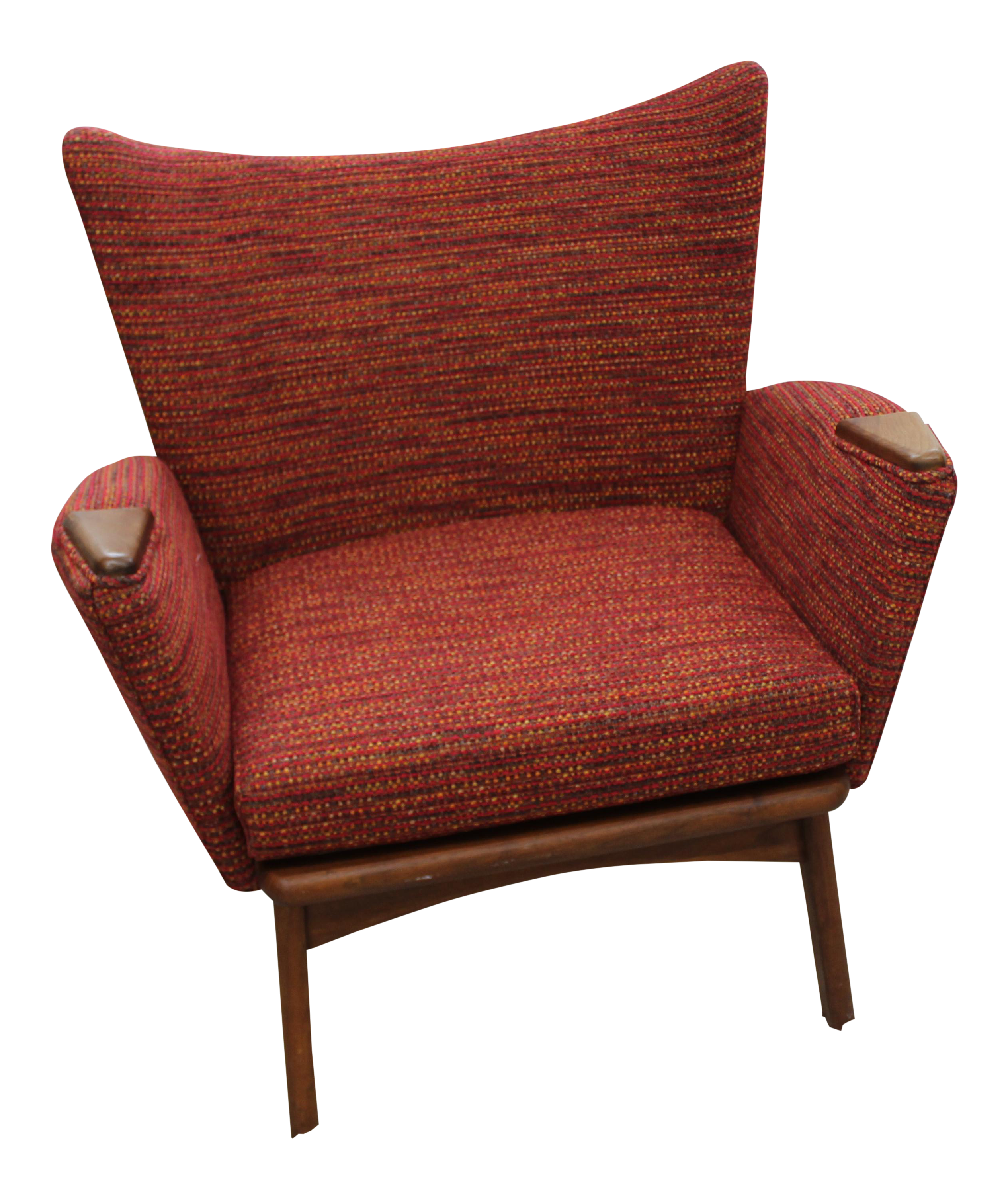 Mid Century Modern Adrian Pearsall Small Wing Back Chair