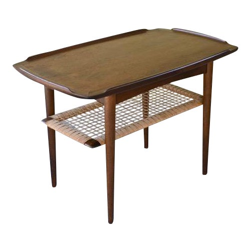 Vintage Poul Jensen for Selig Mid-Century Danish Modern End Table For Sale