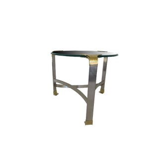 Mid Century Side Table Side Table in the Style of p.e. Guerin For Sale