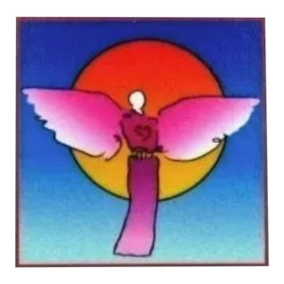 Peter Max Angel with Saturn 2003 For Sale