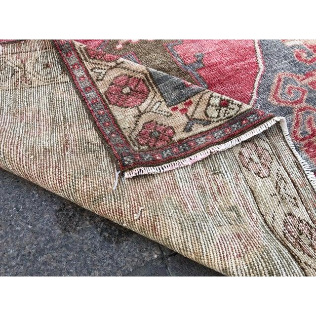 Tribal Turkish Carpet For Sale - Image 4 of 11