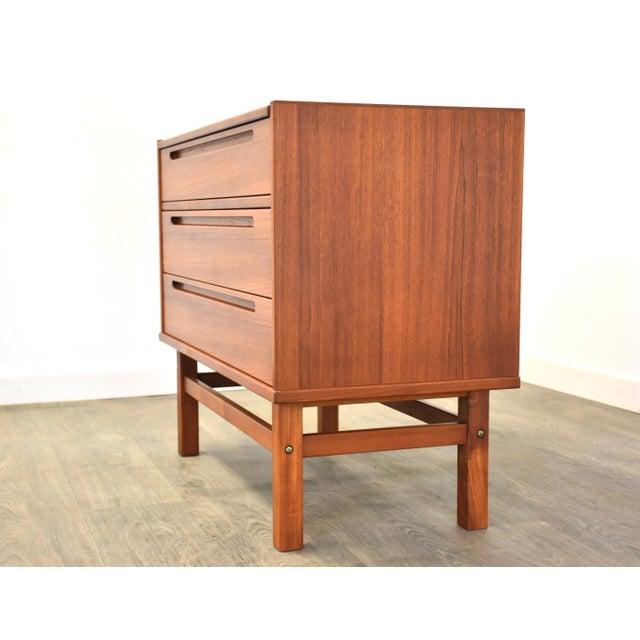 Nils Jonsson Nils Jonsson Teak Vanity Dresser For Sale - Image 4 of 11