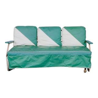 Mid Century Art Deco Porch Glider For Sale