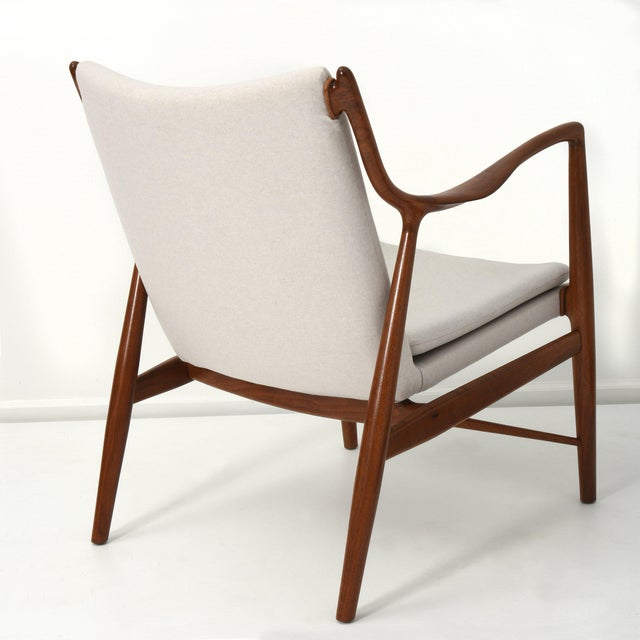 Finn Juhl Pair of Lounge Chairs, 1950s For Sale In Detroit - Image 6 of 7
