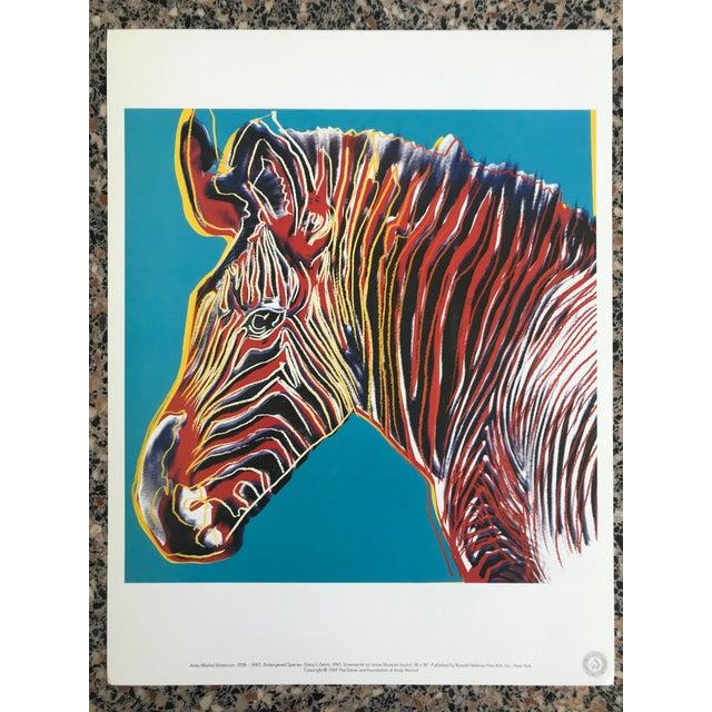 "Warhol ""Endangered Species"" Print Portfolio For Sale In San Francisco - Image 6 of 12"