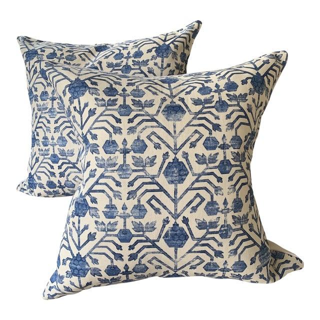 Zak & Fox Kohtan Pillows - Pair For Sale