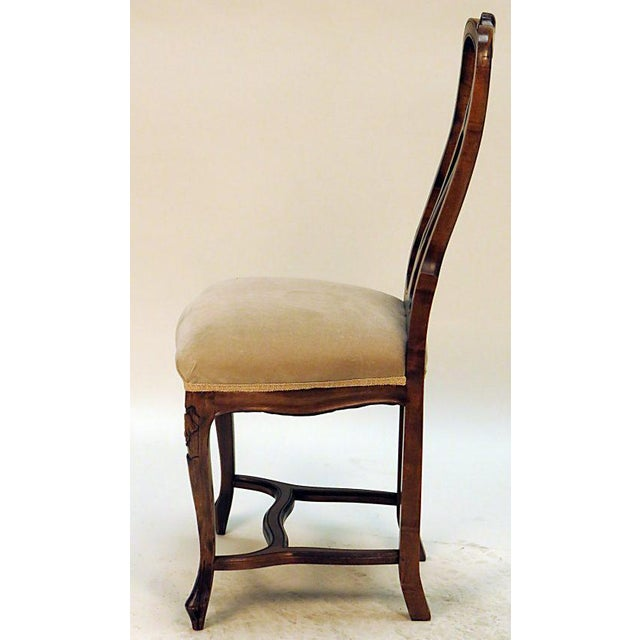 English Traditional Traditional Carved Side Chair For Sale - Image 3 of 5