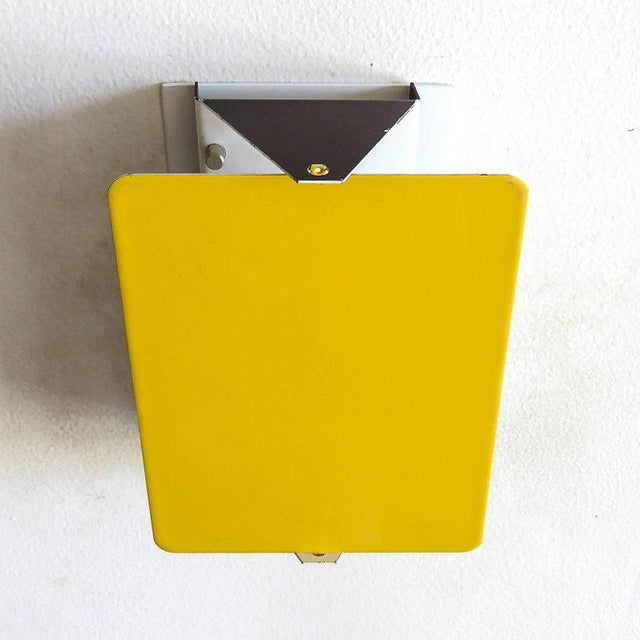 Steph Simon Charlotte Perriand Cp-1 Wall Lights Yellow For Sale - Image 4 of 10