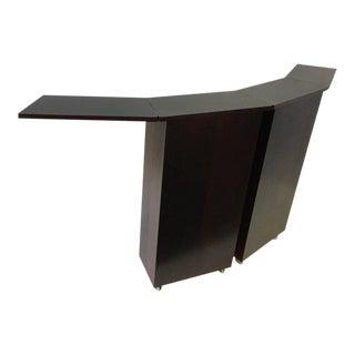 Danish Rosewood Folding and Portable Bar by Niels Erik Glasdam Jensen