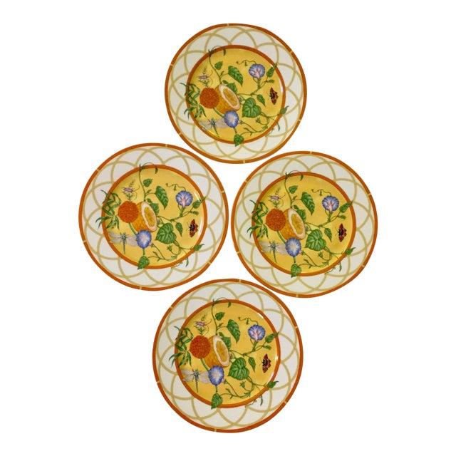 Hermes La Siesta Salad/Dessert Plates - Set of 4