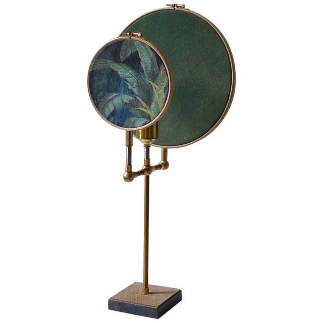 Circle Blue Grey, Table Lamp, Sander Bottinga For Sale - Image 10 of 10