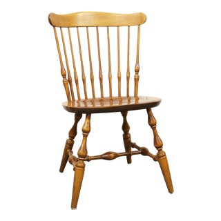 Nichols & Stone Rock Maple Spindle Back Side Chair