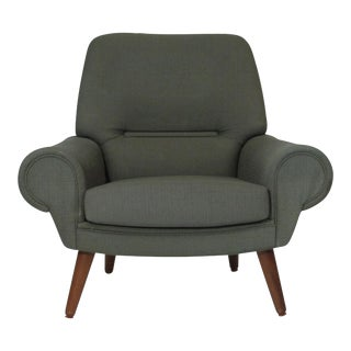 Kurt Ostervig Danish Lounge Chair for Custom Upholstery For Sale
