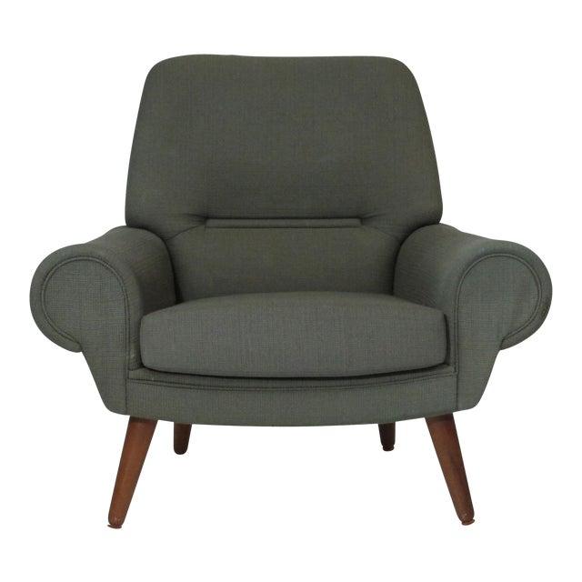 Kurt Ostervig Danish Lounge Chair for Custom Upholstery For Sale