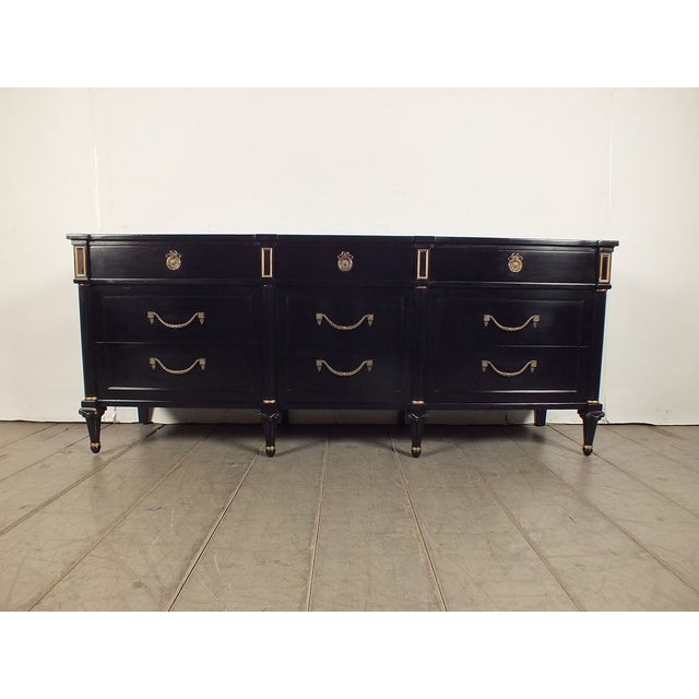 1960s Vintage Hollywood Regency Credenza/Server - Image 2 of 10