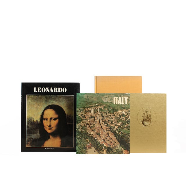 Italian Art History & Landscapes, S/15. Fifteen antique and vintage volumes featuring the art and landscapes of Italy....