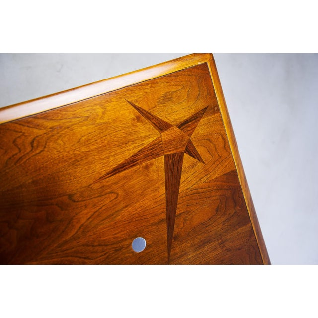 Constellation Walnut & Metal Tables - A Pair - Image 10 of 11
