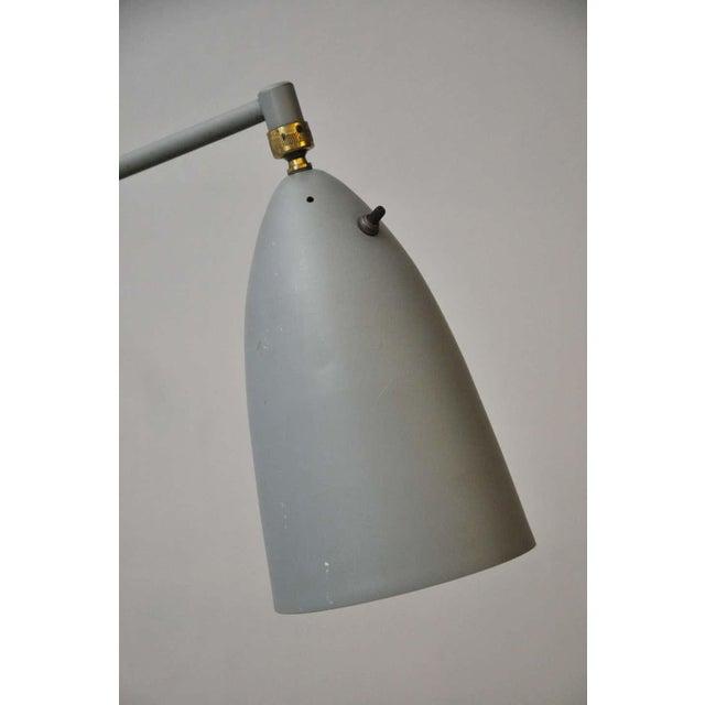 "Greta Grossman Greta Grossman 831 ""Grasshopper"" Floor Lamp for Ralph O. Smith For Sale - Image 4 of 9"