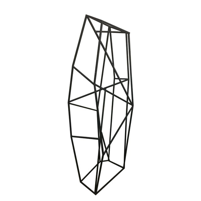 Large Abstract Geometric Steel Sculpture For Sale - Image 4 of 5