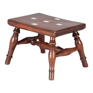 Miniature Regency Lace Makers Table For Sale