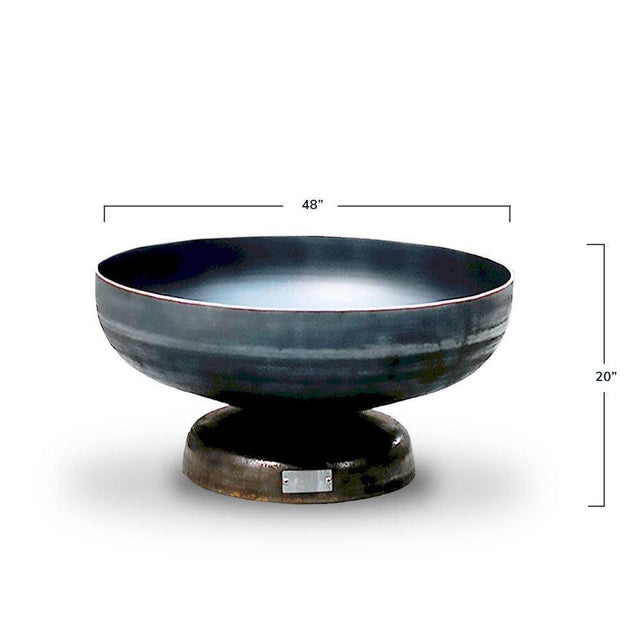 """Modern 48"""" Vulcan Steel Fire Pit For Sale - Image 3 of 4"""