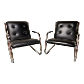 Mid Century Pace Lounge Chairs - a Pair For Sale