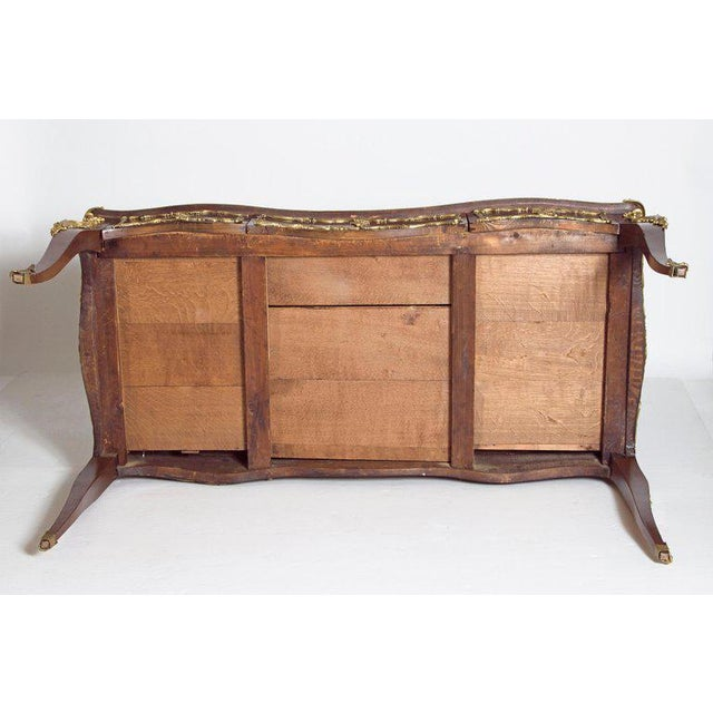 Late 19th Century Louis XV Style Rosewood and Ormolu Bureau Plat For Sale - Image 12 of 13