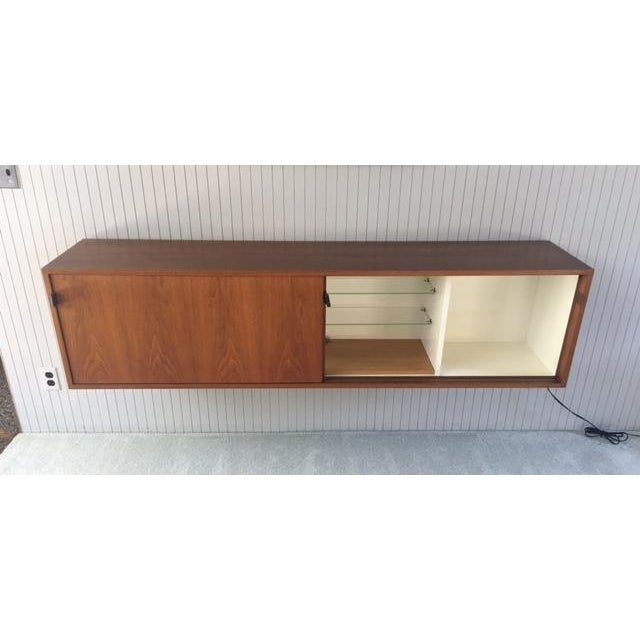Florence Knoll Wall Mounted Credenza Cabinet For Sale In Los Angeles - Image 6 of 6
