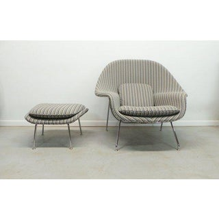 Modern Eero Saarinen for Knoll Athentic Womb Chair & Ottoman Preview