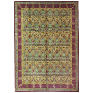 """Arts & Crafts, Hand Knotted Area Rug - 9'9"""" X 13'7"""" For Sale"""