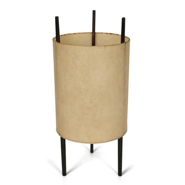 "Knoll Isamu Noguchi for Knoll ""Cylinder"" Table Lights - Set of 3 For Sale - Image 4 of 5"