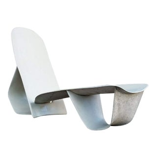 1971 Fiberglass Lounge Chair by Po Shun Leong Shown at Lacma For Sale