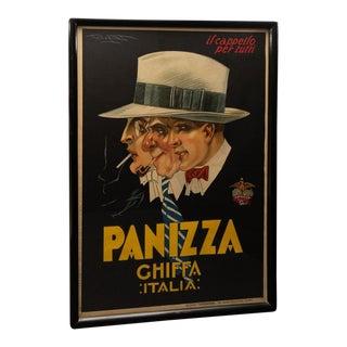 """Art Deco 1927 Poster Italy """"Panizza Chiffa Italia"""" Poster For Sale"""