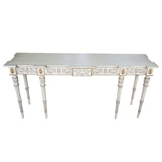 20th Century Italian Karges Console or Sofa Table For Sale