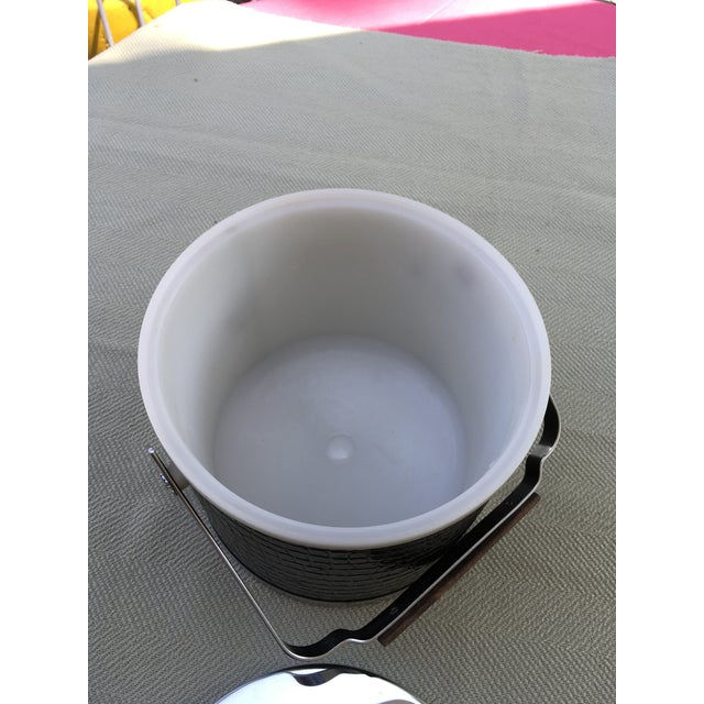Mid 20th Century 20th Century Art Deco Style Chrome Ice Bucket For Sale - Image 5 of 8