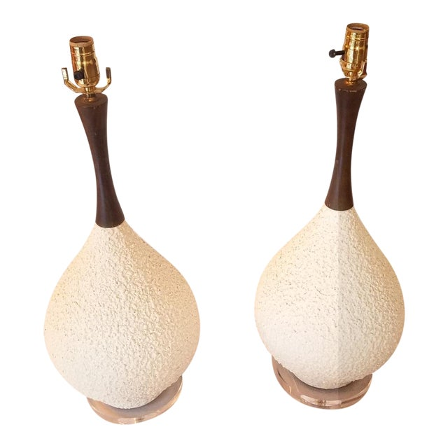 Vintage Table Lamps - A Pair For Sale