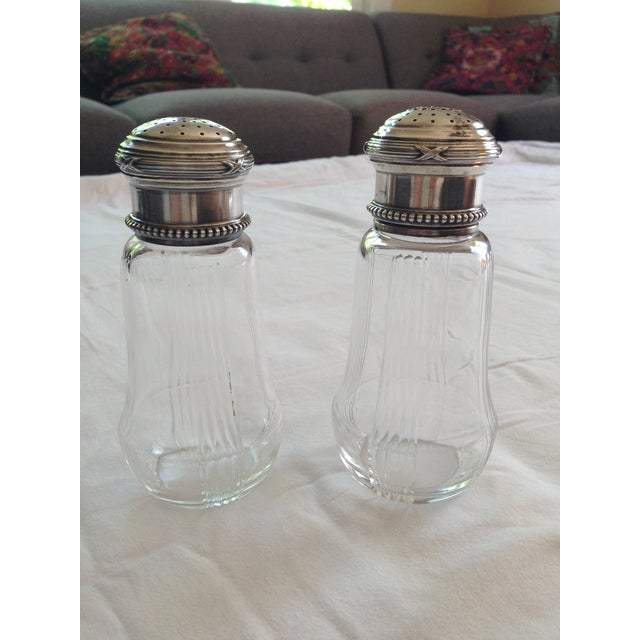 French Silver & Glass Sugar Shakers - A Pair - Image 2 of 11