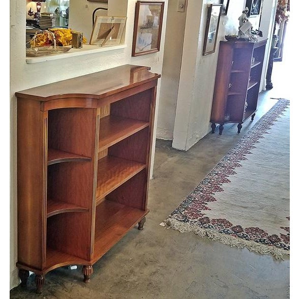Lovely pair of QUALITY reproduction…..20th Century……Sheraton Style open Bookcases. Sheraton is a late 18th century...