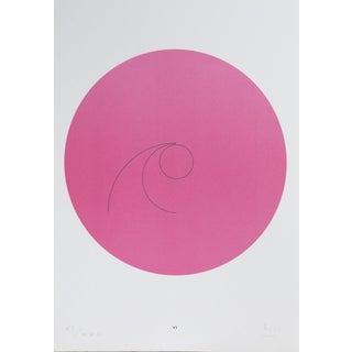 "Max Bill, ""Constellations Vi"", Geometric Lithograph For Sale"
