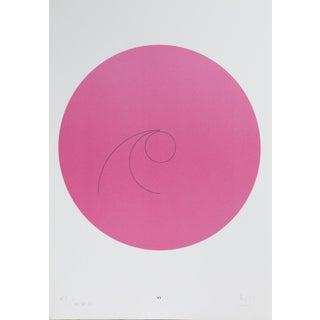 "Max Bill, ""Constellations Vi"", Geometric Lithograph For Sale"