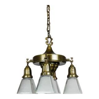 Mitchell Vance & Co. Sheffield Patterned Light Fixture (4-Light)