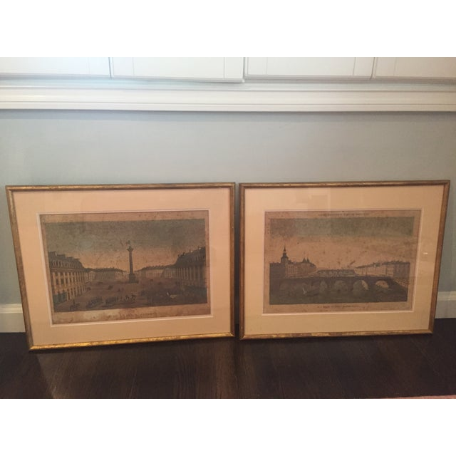 1830's French Prints, Louis Philippe Frame - Pair - Image 2 of 8