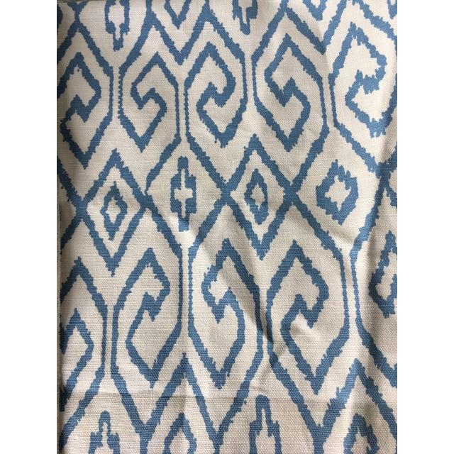 Modern 2.3 Yards Quadrille China Seas Aqua IV Fabric For Sale - Image 3 of 6