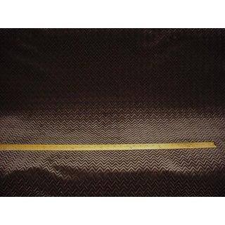 Kravet Couture Chevron Panne Mink Velvet Drapery Upholstery Fabric - 4.25 Yards Preview