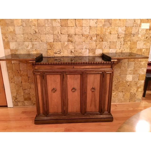 Baker Furniture Bar Cart For Sale - Image 10 of 11