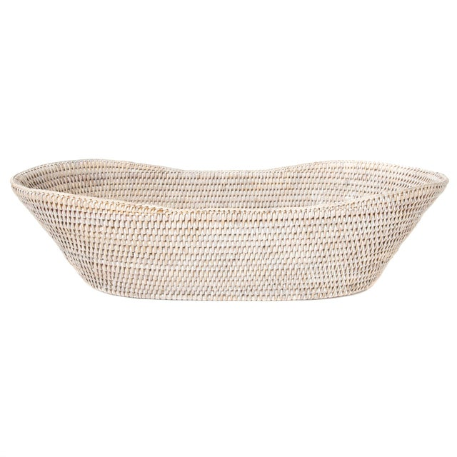 Artifacts Rattan Bread Basket For Sale In Houston - Image 6 of 6