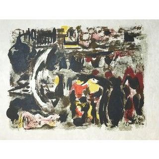 Alexandre Garbell 15, Original Lithograph 1962 For Sale