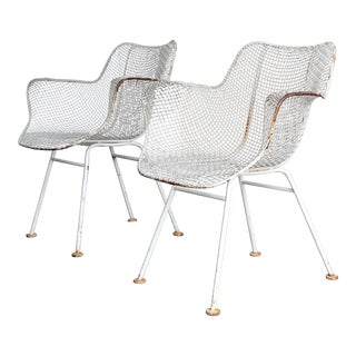 """Mid Century Russell Woodard """"Sculptura"""" Armchairs - a Pair For Sale"""