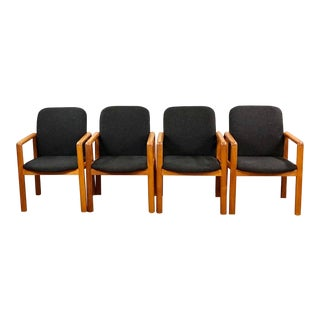 Mid Century Modern Benny Linden Teak Dining Chairs- Set of 4 For Sale